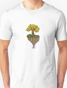 The Earth is Beautiful - Tree Floating T-Shirt