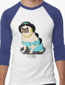 Pugmine! Men's Baseball ¾ T-Shirt