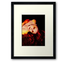 Din - The Path of Power Framed Print