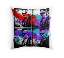 Zef Graffiti God Throw Pillow