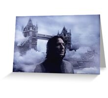 The British Halfblood Prince Greeting Card