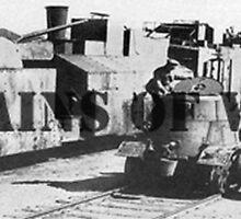 Trains of War by shaynetwright
