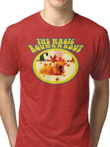 The Magic Roundabout - Doogle Tri-blend T-Shirt