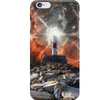 Electric Space Lights iPhone Case/Skin