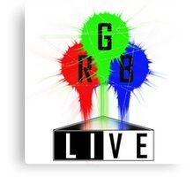 Live-RGB Canvas Print
