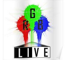 Live-RGB Poster