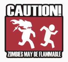 Caution zombies may be flammable by erinttt