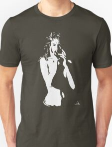 """Monica"" Moonlight Cameo Art T-Shirt"