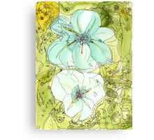 i-flowers-01 Canvas Print
