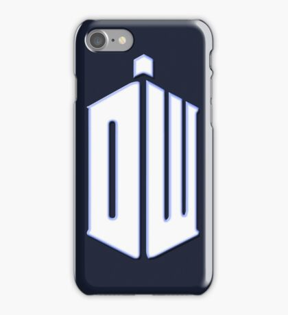 Doctor Who - Logo #3 iPhone Case/Skin