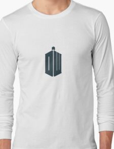 Doctor Who - Logo #4 Long Sleeve T-Shirt