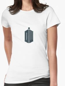 Doctor Who - Logo #4 Womens Fitted T-Shirt