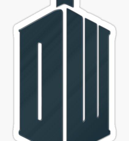 Doctor Who - Logo #4 Sticker