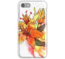July Tiger Lily iPhone Case/Skin