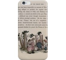 The Queen of Pirate Isle Bret Harte, Edmund Evans, Kate Greenaway 1886 0027 In the Woods iPhone Case/Skin
