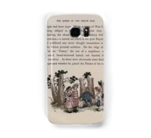 The Queen of Pirate Isle Bret Harte, Edmund Evans, Kate Greenaway 1886 0027 In the Woods Samsung Galaxy Case/Skin