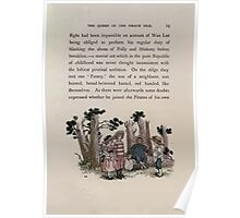 The Queen of Pirate Isle Bret Harte, Edmund Evans, Kate Greenaway 1886 0027 In the Woods Poster