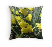 Doubly Glad to See Ya! Throw Pillow