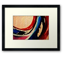 You Spin me Round Framed Print