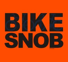 Bike Snob / bicycle snob - blue Kids Clothes