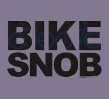 Bike Snob / bicycle snob - blue Kids Tee