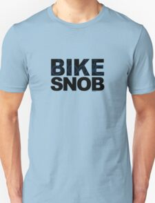Bike Snob / bicycle snob - blue T-Shirt