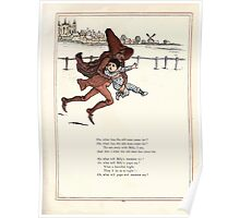 Under the Window Pictures and Rhymes for Children Edmund Evans and Kate Greenaway 1878 0067 Old Man Takes Billy Poster