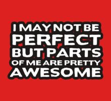 I may not be perfect but parts of me are pretty awesome by erinttt
