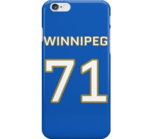 Winnipeg Football (II) iPhone Case/Skin