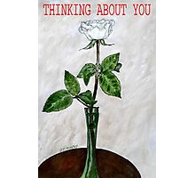 THINKING ABOUT YOU Photographic Print