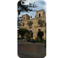 The Magnificent Center Of Cuenca iPhone Case/Skin