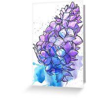 June Lilac Greeting Card