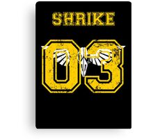 Team Captain: Shrike Canvas Print