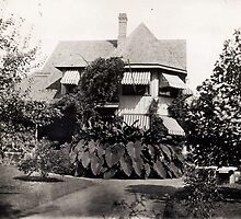 The House At Cedar Bank, circa 1905 by artwhiz47