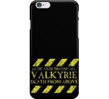 Dedicated Transport: Valkyrie iPhone Case/Skin