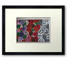 Four Seasons - Autumn & Winter Framed Print