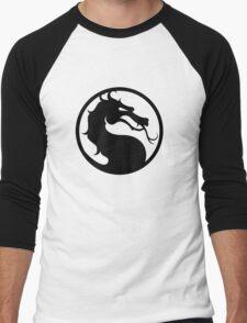 Mortal Kombat - Black Logo Men's Baseball ¾ T-Shirt