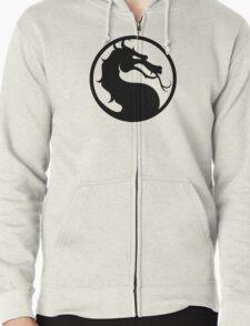 Mortal Kombat - Black Logo Zipped Hoodie