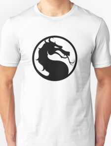 Mortal Kombat - Black Logo T-Shirt