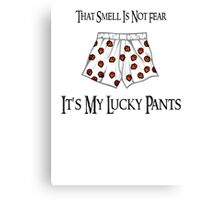 Lucky Gaming Pants Canvas Print