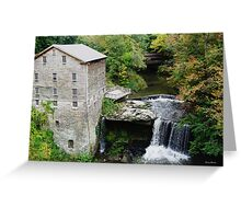 Lanterman Mill - Youngstown, Ohio Greeting Card