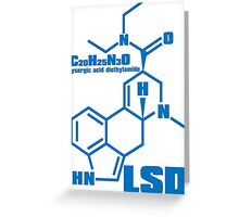 LSD Greeting Card