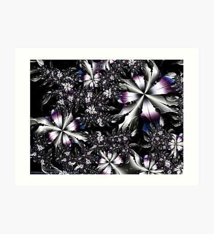 Metalwork Flowers Art Print