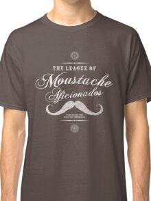 Movember - Moustache Afficionado League white Classic T-Shirt