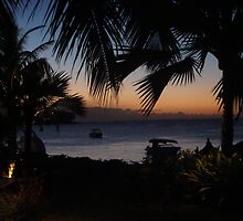 sunset in Mauritius 2 by 8oss