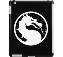 Mortal Kombat - White Logo iPad Case/Skin