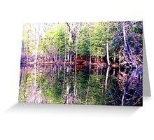 Mirror Land Greeting Card