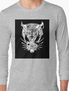 Black ZEF Graffiti Rat Long Sleeve T-Shirt