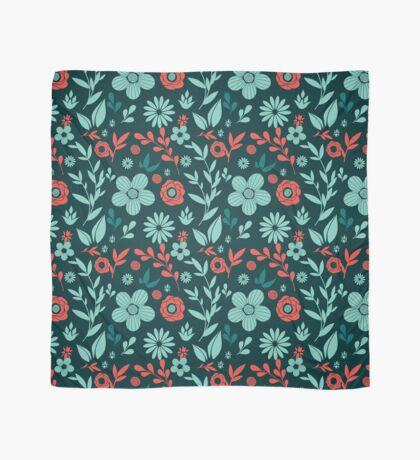 Flowers pattern Scarf
