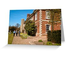 Hall Place: Bexley, Kent, UK. Greeting Card